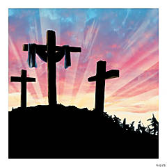 Resurrection Preprinted Backdrop