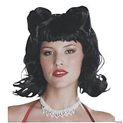 Retro French Twist Black Wig