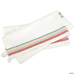Retro Stripe Towels 3/Pk-Multi Stripe