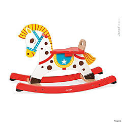 Retro Wooden Rocking Horse