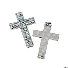 Rhinestone Cross Connectors