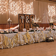 Ribbon Garland Idea