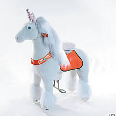 Ride-on Plush Unicorn