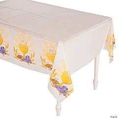 Rise Above Plastic Tablecloth