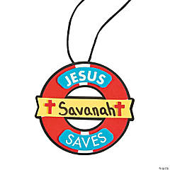 River Canyon VBS Name Tag Necklace Craft Kit