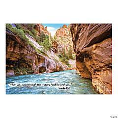 River Canyon VBS Plastic Backdrop