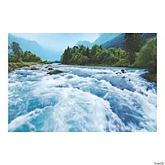 River Canyon VBS Rapids Plastic Backdrop