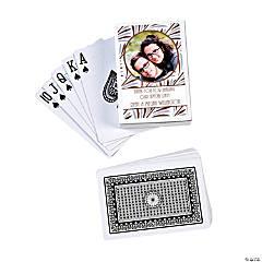 Roaring '20s Custom Photo Playing Cards