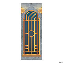 Roaring 20s Art Deco Window Backdrop