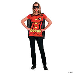 Robin Sexy Shirt Adult Women's Costume