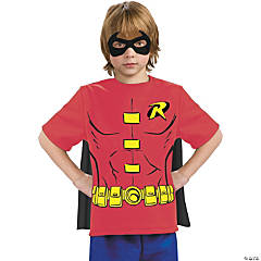 Robin Shirt with Cape for Boys