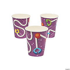 Robot Party Paper Cups