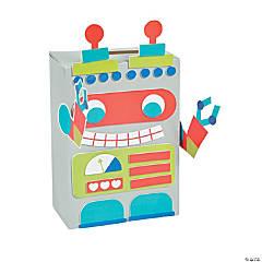 Robot Valentine Card Holder Box