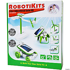 RobotiKits™ 6-in-1 Educational Solar Kit