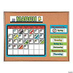 Robots & Gears Bulletin Board Calendar
