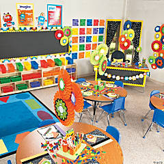 Robots & Gears Classroom Theme