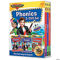 Rock 'N Learn® Phonics 3-DVD Set