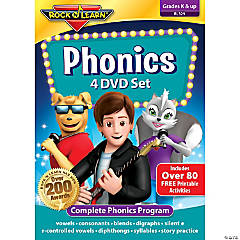 Rock 'N Learn® Phonics 4-DVD Set