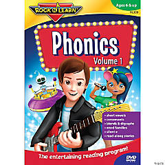 Rock N Learn Phonics DVD, Volume 1