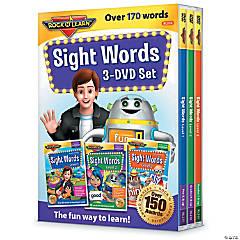 Rock 'N Learn® Sight Words 3-DVD Set