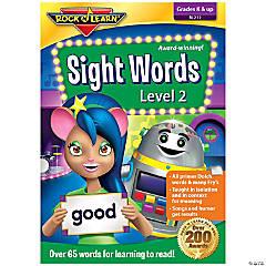 Rock N Learn Sight Words DVD, Level 2