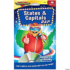 Rock 'N Learn® States & Capitals Rap Audio CD & Book
