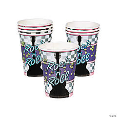 Rock 'N Roll Paper Cups