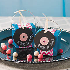Rock 'N Roll Takeout Boxes Idea