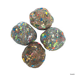 Rock-Shaped Bouncing Balls