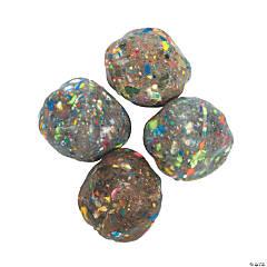 Rock-Shaped Bouncy Balls