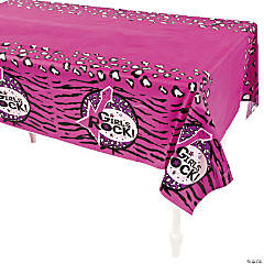 Rock Star Diva Tablecloth