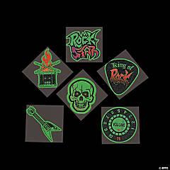 Rock Star Glow-in-the-Dark Tattoos