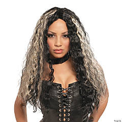 Rocker Crimped Long Wig