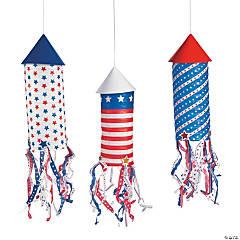 Rocket Hanging Paper Lanterns