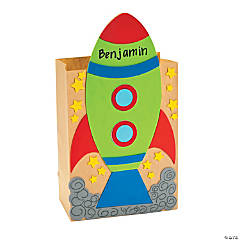 Rocket Valentine Card Holder Craft Kit