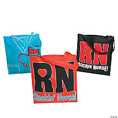 Rockin' Nurse Tote Bags