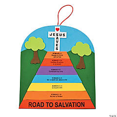 Romans Road Sign Craft Kit