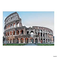 Rome VBS Colosseum Backdrop Banner