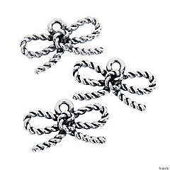 Rope Bow Charms
