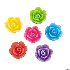 Rose Cabochons - 19mm