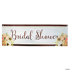Rose Gold Bridal Shower Banner
