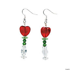 Rose in a Vase Earrings Craft Kit