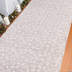Rose Print Wedding Aisle Runner