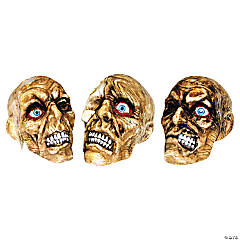 Rotten Haunted Skull Halloween Decoration