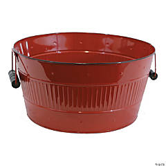 Round Metal Tub 10