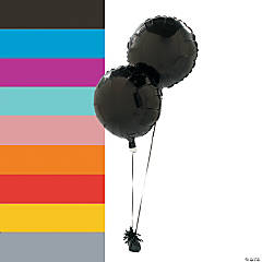 Round Mylar Balloon Set
