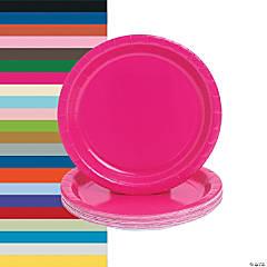 Round Paper Dinner Plates