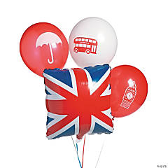 Royal Baby Shower Balloon Set