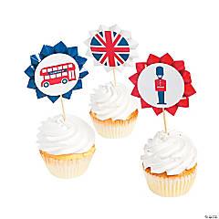 Royal Baby Shower Cupcake Picks