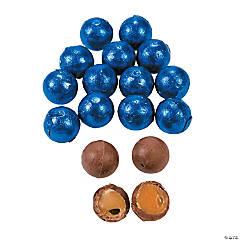 Royal Blue Caramel Balls Chocolate Candy
